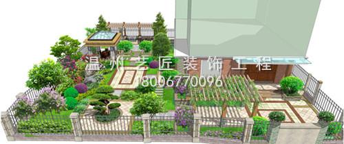 别墅庭院景观设计图